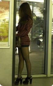 上海街头极品身材美女