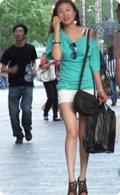 上海街头美女