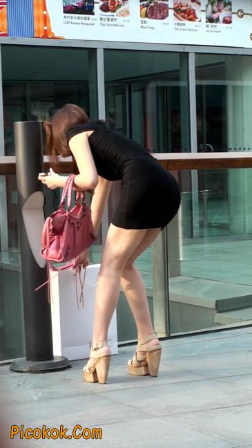翘臀超短裙美女,没人能抵抗如此的美色39