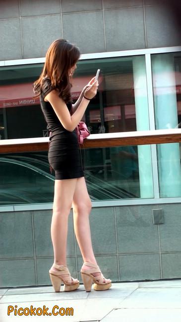 翘臀超短裙美女,没人能抵抗如此的美色48