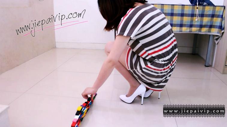 短片490-Vivian的清秀白色高跟鞋短片2