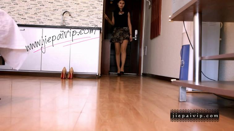短片499-Lucky秀时尚水台浅口高跟鞋