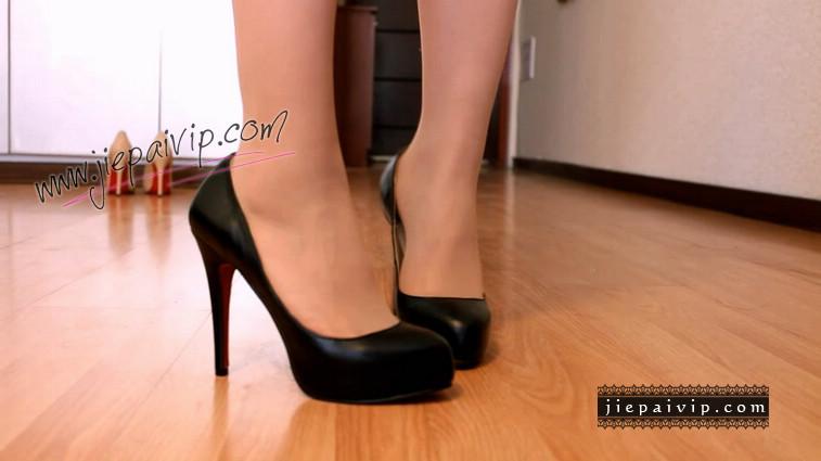 短片499-Lucky秀时尚水台浅口高跟鞋4