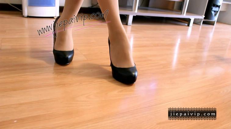短片499-Lucky秀时尚水台浅口高跟鞋12