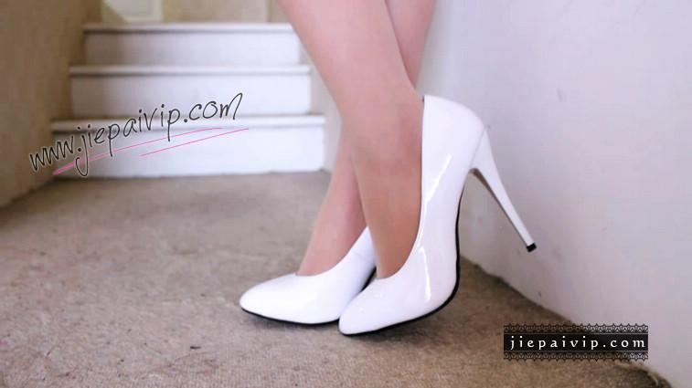短片503-Vivian的白色细高跟鞋视频6