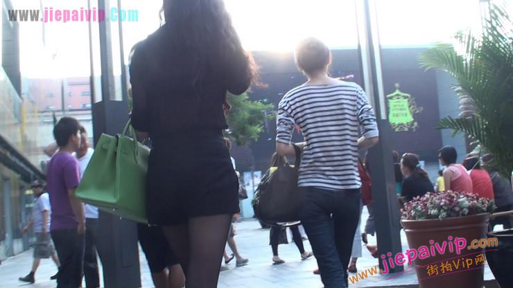 北京三里屯街拍美女,超有气质16