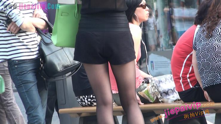 北京三里屯街拍美女,超有气质22