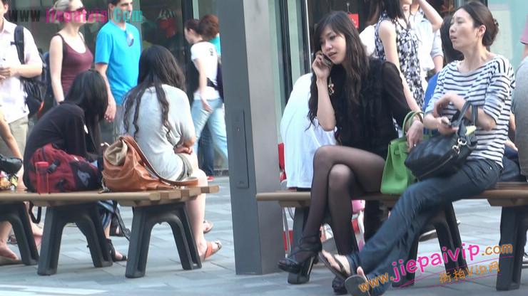 北京三里屯街拍美女,超有气质25
