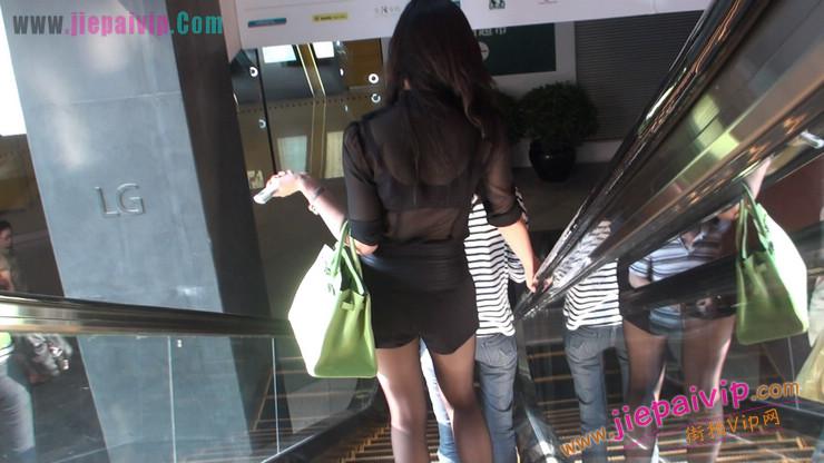北京三里屯街拍美女,超有气质3
