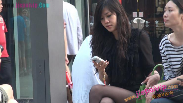 北京三里屯街拍美女,超有气质31