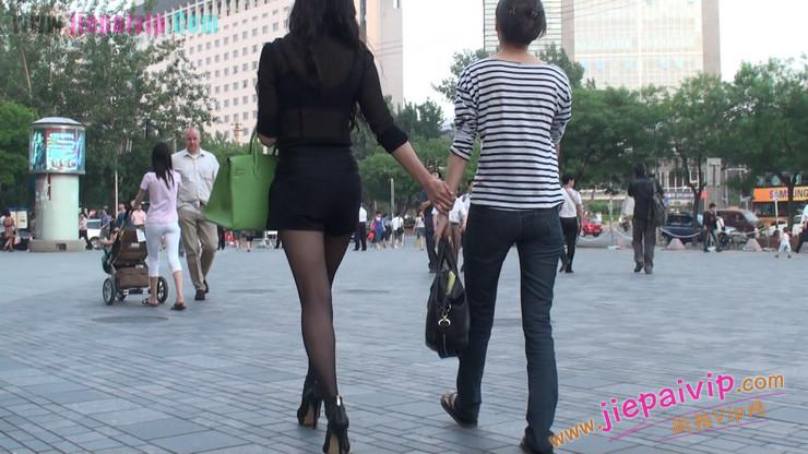 北京三里屯街拍美女,超有气质36