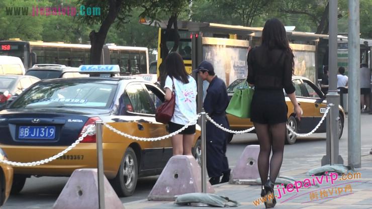 北京三里屯街拍美女,超有气质44