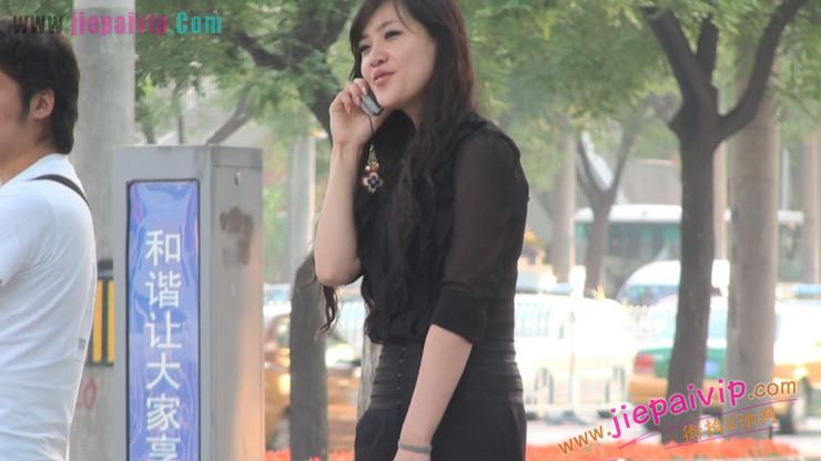 北京三里屯街拍美女,超有气质53