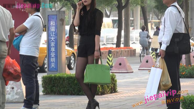 北京三里屯街拍美女,超有气质54