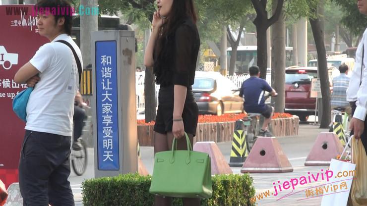 北京三里屯街拍美女,超有气质57
