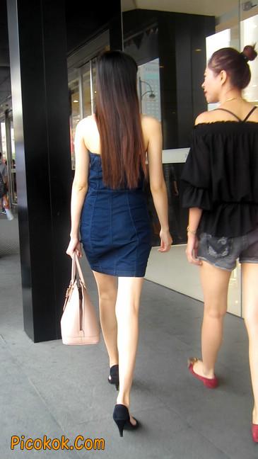 如此性感身材白嫩美腿,女人看了都妒忌9