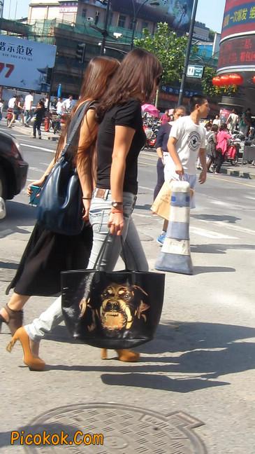 街拍,紧身牛仔裤,男人的尤物13