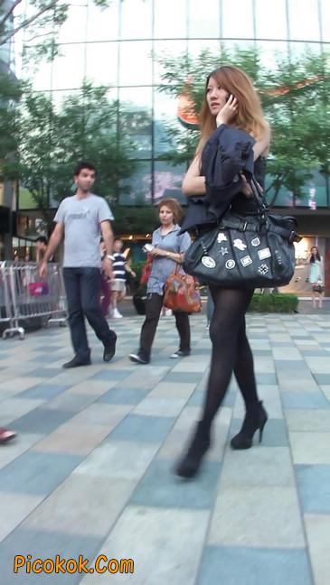 街拍长腿美女2