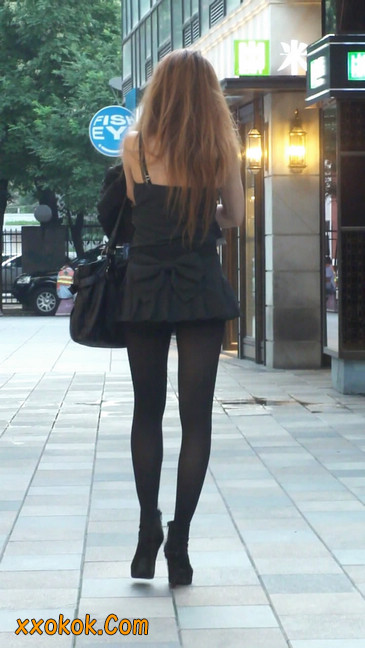 街拍长腿美女3
