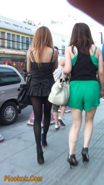 街拍长腿美女5