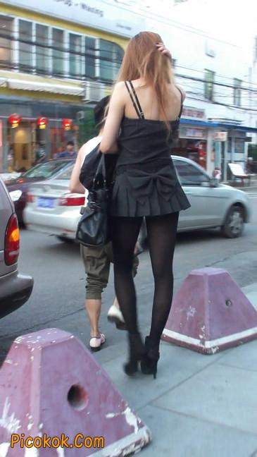 街拍长腿美女6