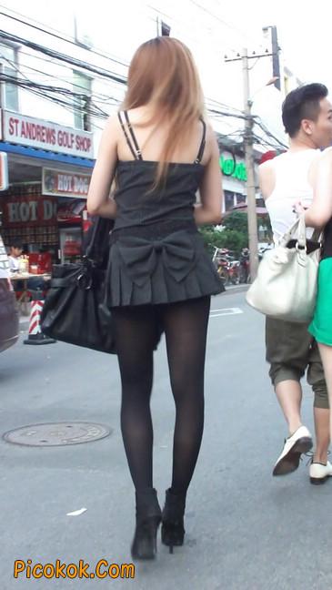 街拍长腿美女7