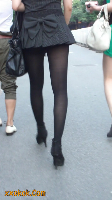 街拍长腿美女8