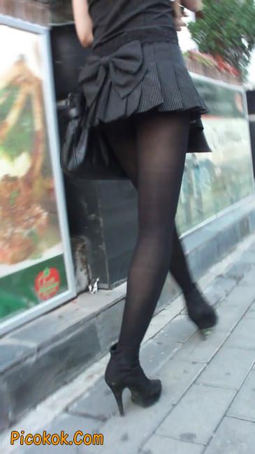 街拍长腿美女9