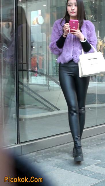 极品美女性感紧身皮裤绝对让你意犹未尽10
