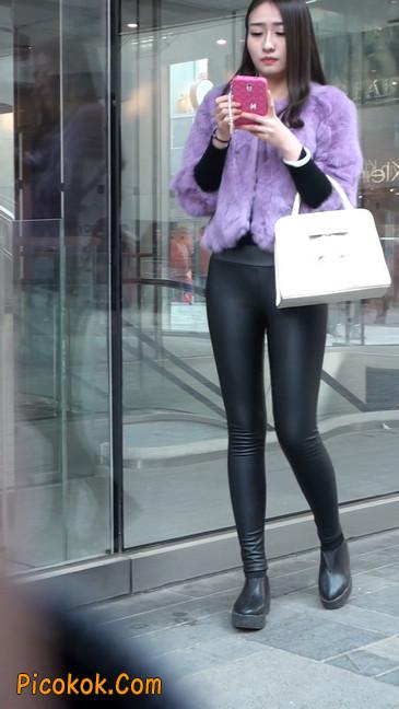 极品美女性感紧身皮裤绝对让你意犹未尽11