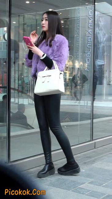 极品美女性感紧身皮裤绝对让你意犹未尽17