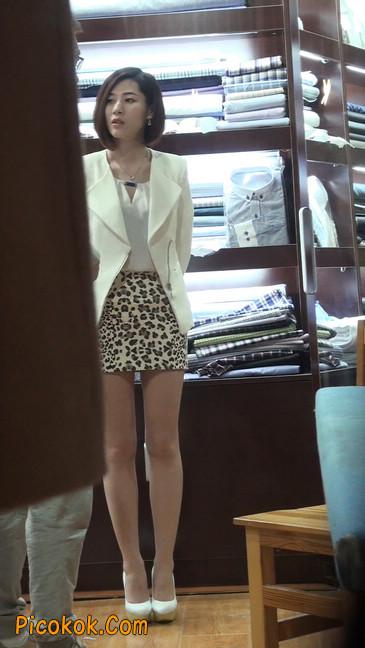 会让你神魂颠倒的豹纹短裙美女78