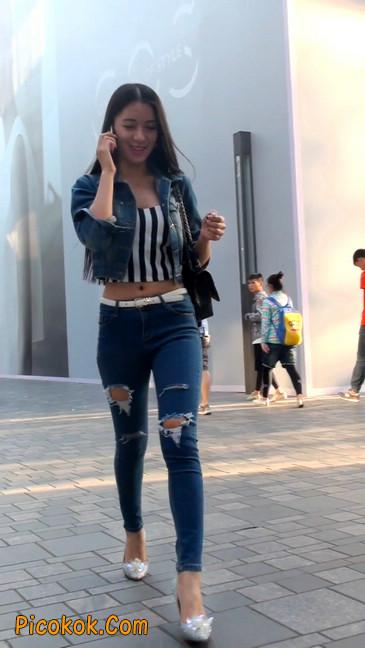 非常漂亮的紧身牛仔裤美女25