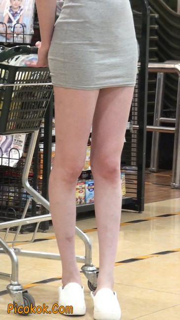 街拍极品超短裙气质网红美女58