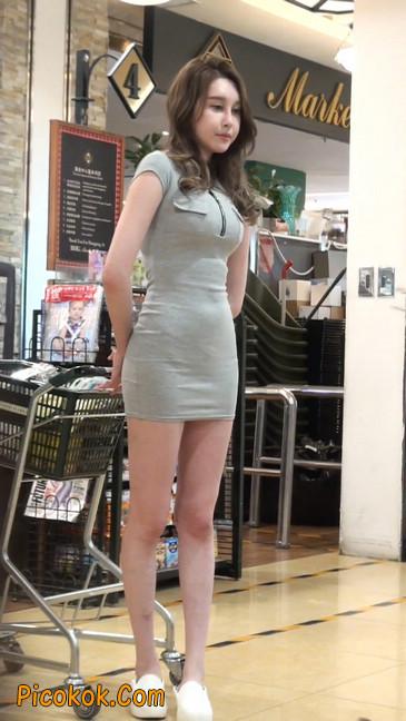 街拍极品超短裙气质网红美女62