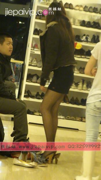 街拍穿长靴子的美女60