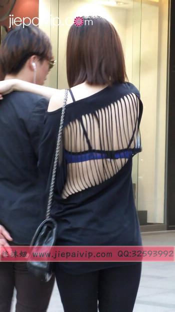 街拍北京街头的极品美女噢34