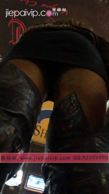 街拍穿长靴子的美女28