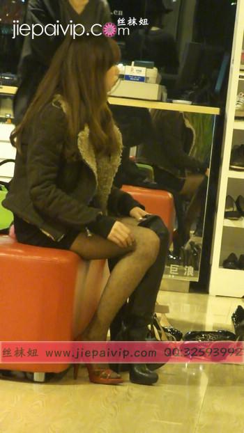 街拍穿长靴子的美女36