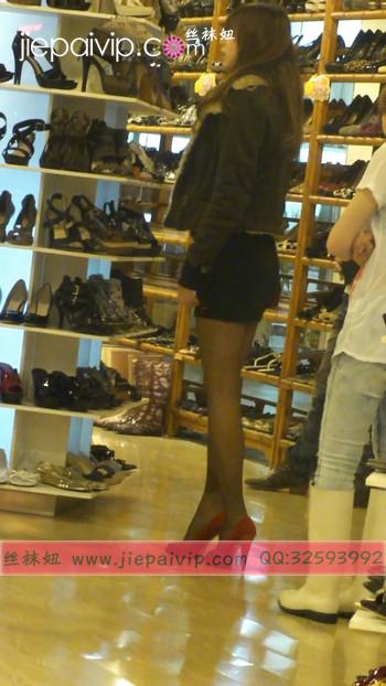 街拍穿长靴子的美女41