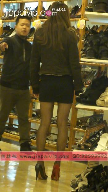 街拍穿长靴子的美女45