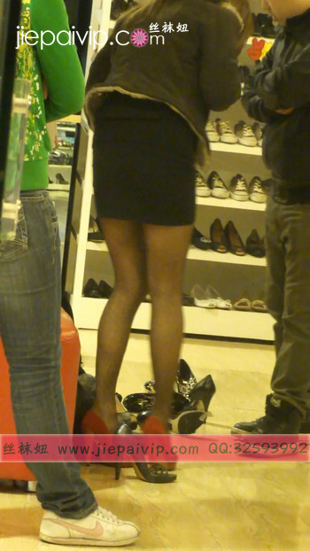 街拍穿长靴子的美女47