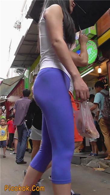 街拍视频,紧身裤街拍42