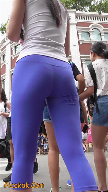 街拍视频,紧身裤街拍50