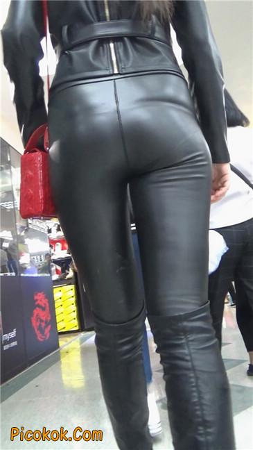 性感紧身皮裤丰臀少妇. 第三季10