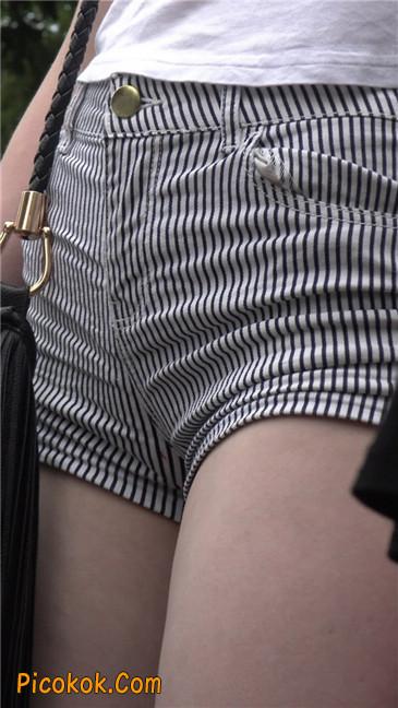 超极品大长腿超短热裤美臀美女11