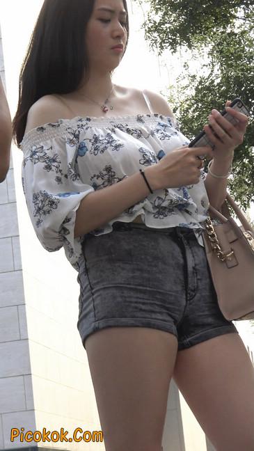 超极品灰色热裤大美女第二季6