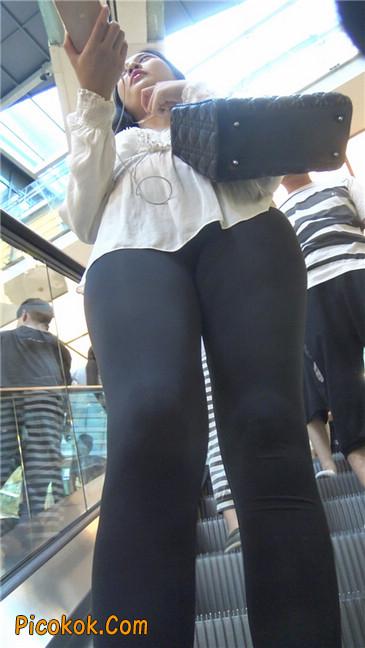 性感超薄打底裤之女2