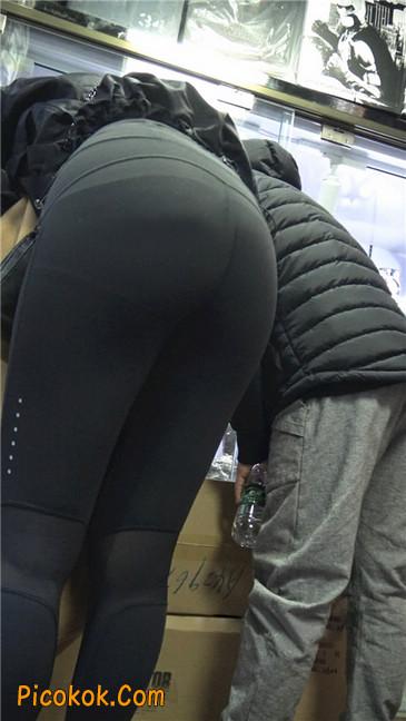 身材出众气质极佳的耐克紧身裤美女第二季8