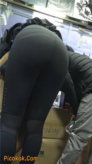 身材出众气质极佳的耐克紧身裤美女第二季9